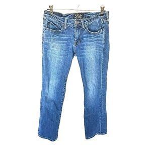 EUC Lucky crop jeans